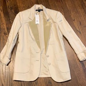 Blazer jacket blazer French Connection ivory 4